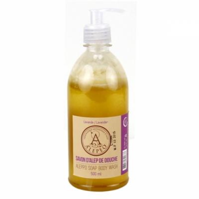 Aleppo body wash lavendel – 500 ml