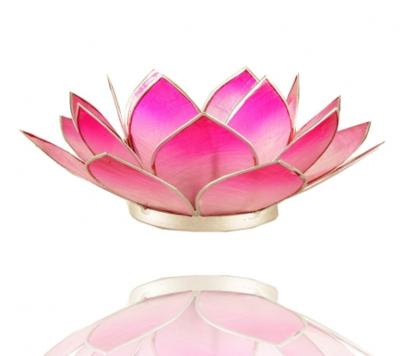 Lotus sfeerlicht gemaakt van capiz schelp - 9 kleuren