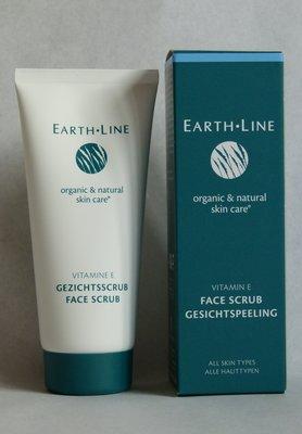 Gezichtsscrub Earth Line - vermindert rimpeltjes en pigmentvlekjes