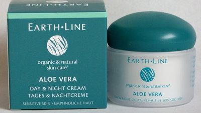 Aloë vera dag- en nachtcreme Earth Line – gevoelige huid