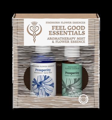 Feeling Prosperous bloesemspray en aromaspray - duopakket Findhorn Essences