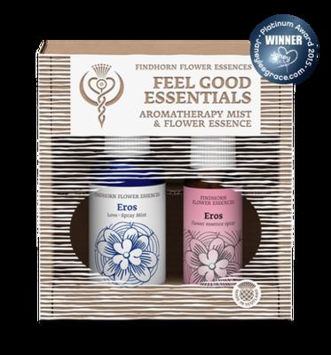 Feeling Love bloesemspray en aromaspray - duopakket Findhorn Essences