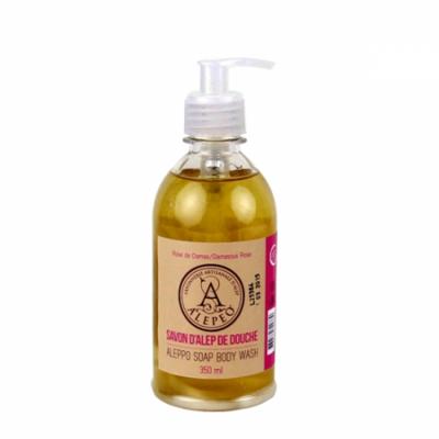 Aleppo body wash roos – 350 ml