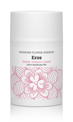 Findhorn Eros Flower Essence creme met roos en sandelhout - (zelf)liefde en ontspanning