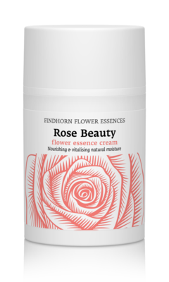 Findhorn Flower essence Rose Beauty creme - vernieuwing en ontspanning
