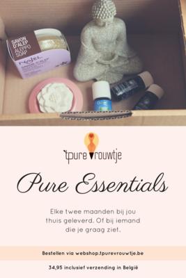 Pure Essentials - verwenpakket om de twee maanden