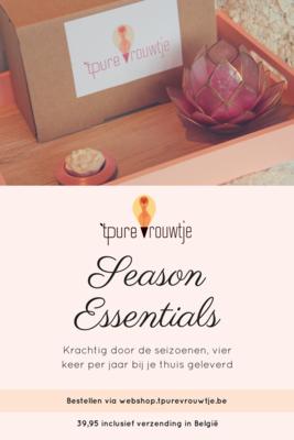 Season Essentials - krachtig door de seizoenen met 't Pure vrouwtje