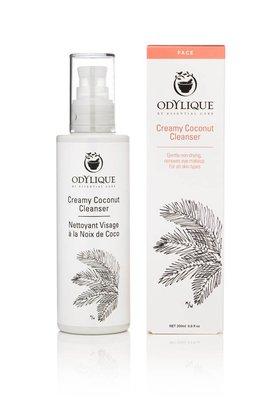 Creamy coconut cleanser Odylique - romige reiniger voor normale/rijpere huid
