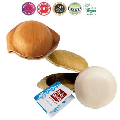 "Anti-stress Ayurvedische zeep ""Kewra"" met kokosolie en oosterse bloemengeur"