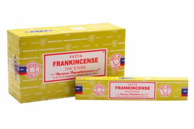 Satya wierook met Frankincense - zuivering & rust