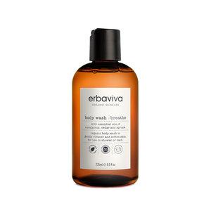 Breathe body wash Erbaviva - vrij ademen - laatste flesje!