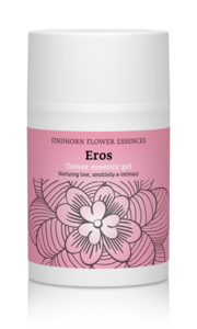 Findhorn Eros Flower Essence gel met aloe vera en jojobaolie - intimiteit