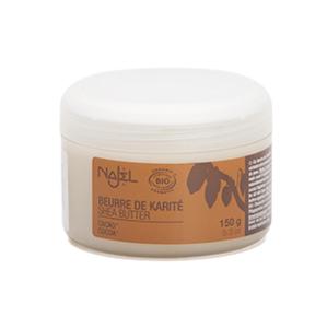 Shea boter Najel - 100% natuurlijke helper voor droge handen en voeten - met cacao