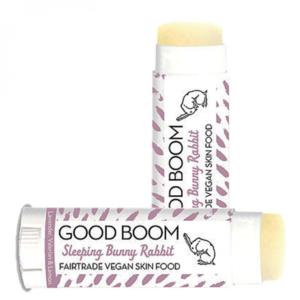 Good Boom lippenbalsem om heerlijk bij in slaap te vallen - vegan, fairtrade & 100% natuurlijk