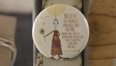 Magneet 'Believe in yourself'